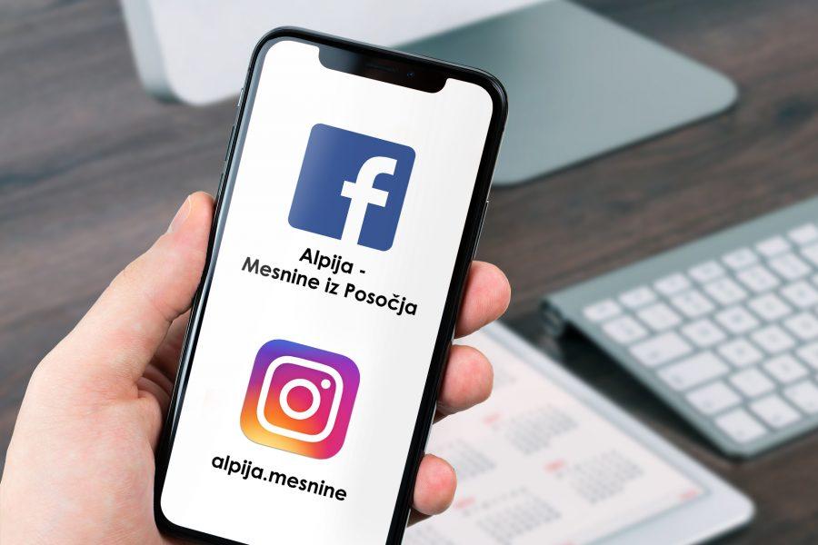 Sledite nam na družbenih omrežjih